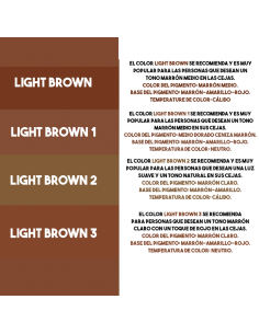Charme International Pigments EyeBrown Light Brown