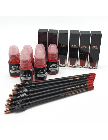 Perma Blend Set Lips Tina Davis Lust