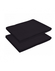 Adjustable Black Fabric Sheets