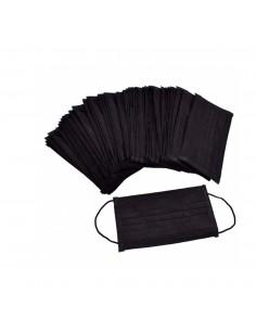 Hygienic Black Masks 10 und