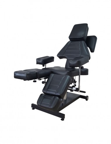 Black Multi-position Hydraulic Chair/Couch